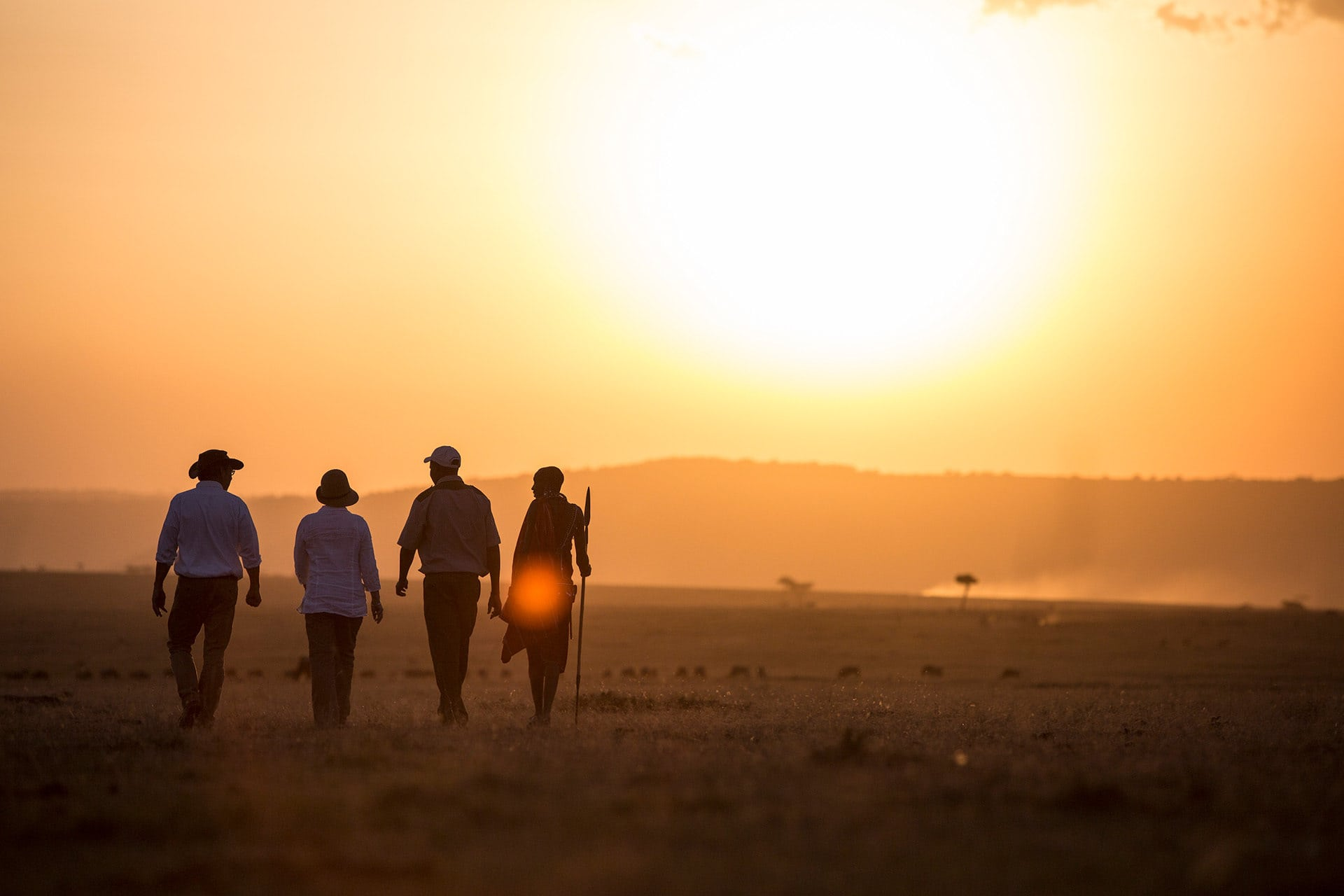 Adumu Safaris Activities - Trekking and Walking Safaris